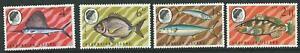 ASCENSION SG117/20 1969 FISH 2nd SERIES MNH