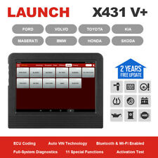 LAUNCH X431 V+ Auto Scanner ScanPad Car Diagnostic Tool Full System Code Reader