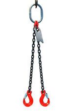 Chain Sling 516 X 6 Double Leg With Sling Hooks Grade 80