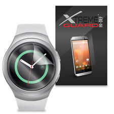 6-Pack HD XtremeGuard HI-DEF Screen Protector For Samsung Gear S2 Smartwatch