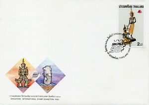 Thailand Stamp, First Day Cover ,1990, Singapore International Stamp