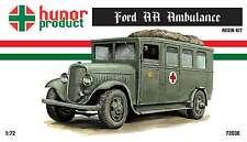 1/72 Ford AA Ambulance Truck Hunor Model WWII RESIN kit 72036