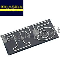 2921 - TARGHETTA IN ALLUMINIO COFANO LATERALE VESPA PX 125 T5 - BICASBIA
