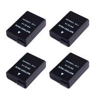 4 Packs Battery for Nikon EN-EL14A Decoded D5300 D5200 D5100 D3300 D3100 P7100