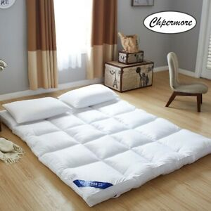 Simple 10cm Thicken Mattress Bed Tatami Pad Classic Design King Size Comfortable
