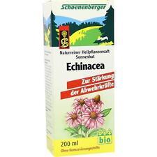 ECHINACEA SAFT Sonnenhut Schoenenberger 200ml PZN 692110