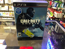 Call of Duty: Ghosts -- Hardened Edition (Sony PlayStation 3, 2013) CIB Tested!!