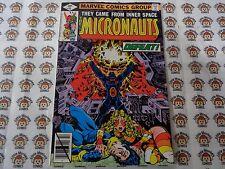 Micronauts (1979) Marvel - #10, Homeworld Battle Rages, Mantlo/Golden, VF-