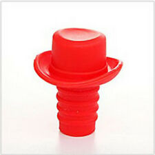 CuteStylish Silicone Rubber Wine Beer Bottle Stopper Cap Cover Sealer Pure Color
