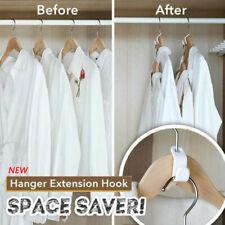 Closet Hanger Wonder Space Saver Magic Extension Hook Clothing Rack 6pcs