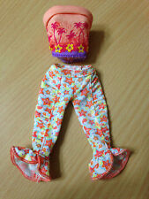 Barbie My Scene Jammin in Jamaica Jai Doll's Outfit Clothes Capris Pant Top Rare