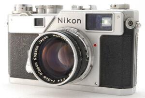 FedEx【NEAR MINT】 Nikon S3 Rangefinder Film Camera Nikkor-s.c 5cm 50mm f1.4 JAPAN