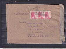 0479 Spain Civil war  Novelda Alicante censored cover to Liverpool ( GB)