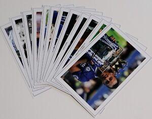 CHELSEA JobLot Bulk Set Autograph Signed PHOTO Prints Fan Gift Soccer Football