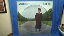 Elton John A Single Man Original Rare 1978 Mca Classic Pop Rock Picture Disc Lp