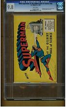 With Superman At Gilbert Hall Of Science #NN CGC 9.8 1948 MINT WHITE PAGES BLUE