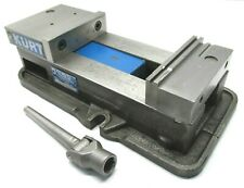 Kurt Anglock 6 Milling Machine Vise With Jaws Amp Handle D675