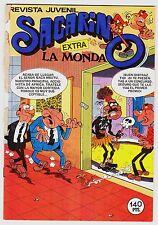 "EXTRA  nº 78: SACARINO ""LA MONDA"". Ed. Bruguera 1985."