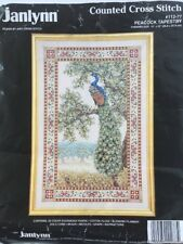 Janlynn Peacock Tapestry Counted Cross Stitch Kit #112-77