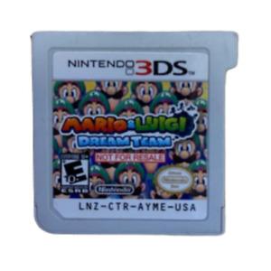 Nintendo 3ds Mario & Luigi Dream Team Demo Not For Resale Version Cartridge Only