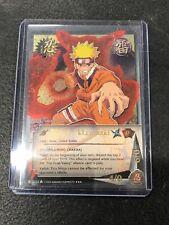 Shonen Jump's Naruto Uzumaki Collectible Card TCG Overflowing Chakra