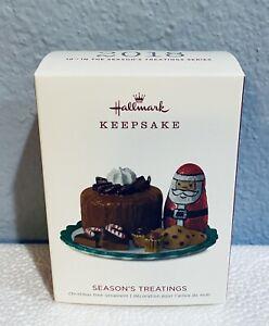 Hallmark Keepsake Ornament Season's Treatings #10 in Series 2018 NEW