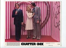 Chatter-Box-Perry Bullington, Candice Rialson, and Larry Gelman-8x10-B&W-Still