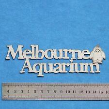 Chipboard A2Z Scraplets Melbourne Aquarium GR
