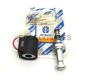 """81870291 - Front Axle Solenoid Valve Fits New Holland """"10S & TS Series"""" Tractor"""