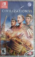 Sid Meier's Civilization VI - Nintendo Switch New!
