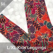 LuLaRoe LLR Halloween Kids L/XL Leggings - Candy BNWOT