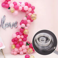5M Balloon Arch Decor Strip Connect Chain Plastic DIY Tape Party Supplies SMART