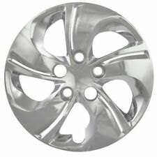 """NEW 2013 2014 Honda Civic Style 15"""" Chrome Hubcaps Wheel Covers SET OF FOUR"""
