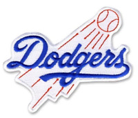 Los Angeles Dodgers Primary Official MLB Team Logo Jersey Patch