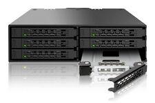 "New ICY Dock MB996SP-6SB ToughArmor 6 bay 2.5"" SATA HDD Hard Drive Mobile Rack"