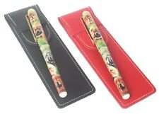 More details for chow chow breed of dog themed pen choice red or black pen case perfect gift