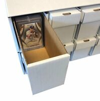 Penthouse Card Storage Box System for Toploaders & One Touch Magnetic Holders