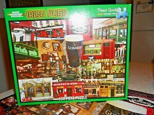 White Mountain Jigsaw Puzzle IRISH PUBS