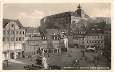 Weißenfels Markt APOTHEKE, Geschäfte, Omnibus, Denkmal, Schloß
