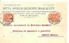 ORIA  -  DITTA ANGELO GIUSEPPE BIASI & F.glio - Legnami, Ferramenta, Colori.....