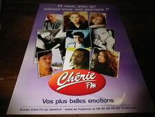 DION - LAVOINE - GAROU - FABIAN - BRUEL - Publicité de magazine / Advert !!!