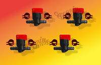4 Replaces John Deere # AM36141 Inline Gas Cut Off,or Shut Off Valves 1/4 Line