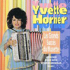 YVETTE HORNER - Grands Succes Du Musette (CD 1999)