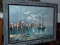 Rikard Lindstrom Oil on Canvas Painting Listed Artist