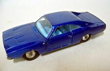 Matchbox Kingsize K-22A Dodge Charger blaumetallic