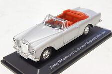 Bentley s2 continental 1961 plata 1:43 yat ming nuevo & OVP