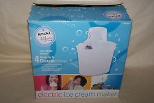 Rival At Home 4 Quart Ice Cream Maker