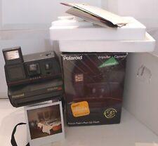 Polaroid 600 Instant Camera- Impulse SE +Retail Box, Manual & Strap TESTED