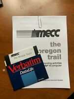 "MECC apple II 2 Oregon trail version 1.4 1985 game A157 5.25 5.25"" Disk"