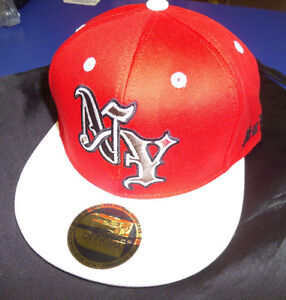 une Casquette CAPSTER'S OFFICIAL coton NEW YORK